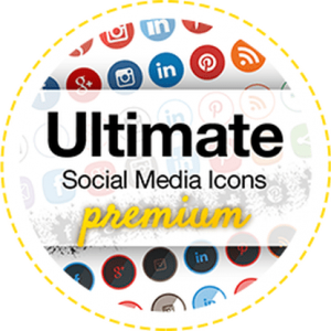 UltimatelySocial. Ultimate Social Media Icons Premium